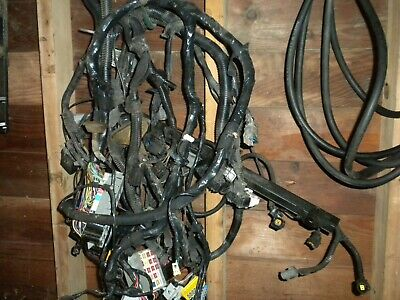 98 jeep wrangler tj 4 0 5 speed manual engine wiring wire harness complete