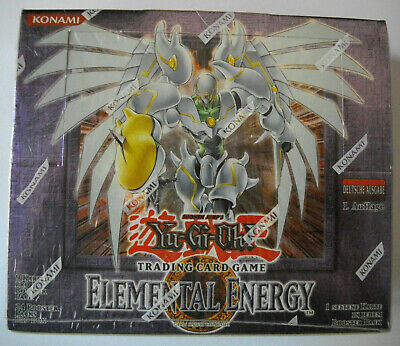 YuGiOh - ELEMENTAL ENERGY - Display - Deutsch - 1. Auflage - OVP - NEU