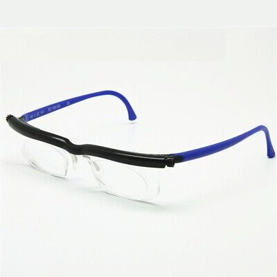 Adjustable Reading Glasses -6D To +5D Diopters Magnifying Strength Eyeglasses