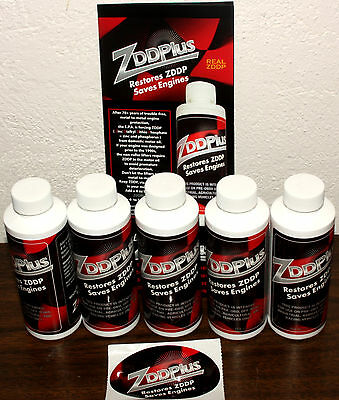 ZDDP Engine Oil Additive - Saves Cam Shafts = 5 pack Free Shipping