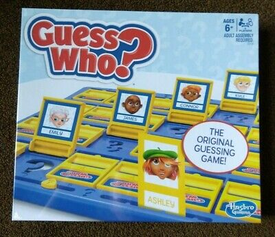 Hasbro C2124 Hasbro Guess Who? Classic Game factory sealed