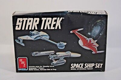AMT Star Trek U.S.S. Enterprise Cut-away Model Kit NCC-1701 Model No. 8790