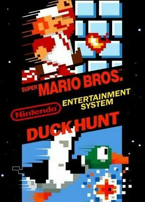 Super Mario Bros / Duck Hunt - Nintendo Entertainment System NES Game Cart Only