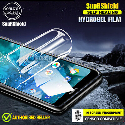 Nokia 5.1 Plus / 7.1 SupRShield Hydrogel Full Coverage LCD Screen Protector Film
