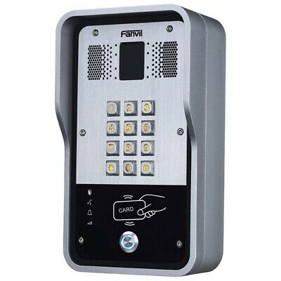 Fanvil i31S Outdoor Video Door Phone Intercom HD Camera RFID + PIN Access Con...