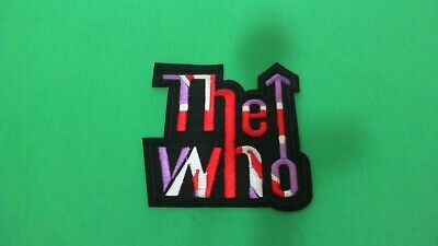 The Who Iron On Patch! New Rolling Stones Led Zeppelin Pink Floyd
