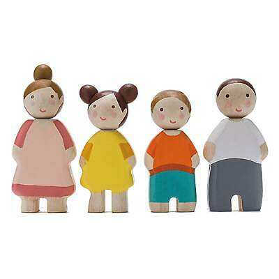 Tender Leaf Toys Four Wooden People Family *XTRA 3% OFF use PICKLE*