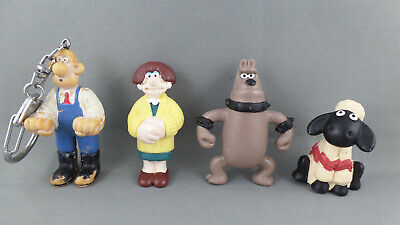 4 Wallace & Gromit Figures #3
