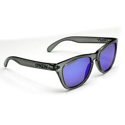 Polarized Fashion Sports Oakley Sunglasses Grey Frame Blue Lens