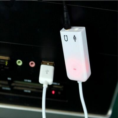Cards For Laptop PC USB 2.0 7.1 Channel 3D Virtual Audio Sound Card Adapter KY
