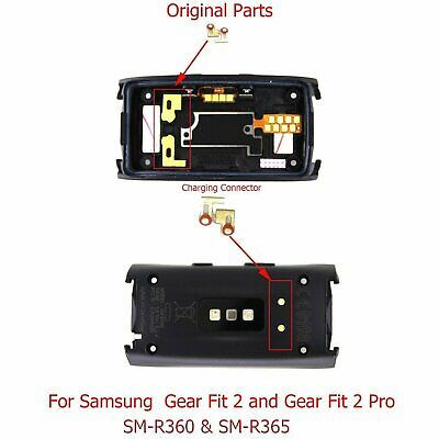 1 pair Charging Connector for Samsung Gear Fit 2(SM-R360) / Fit2 Pro (SM-R365)