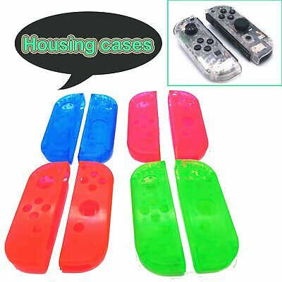2Pcs Housing Cover Protector Case Replace Shell for NS Switch Controller Joy-Con