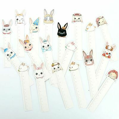 30pcs Cute Rabbit Bookmarks Paper Page Notes Label Message Card Book Marker