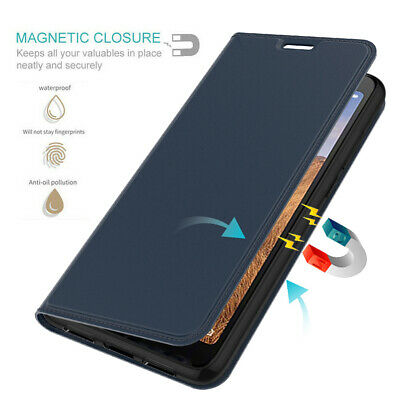 For Xiaomi Redmi 7A 7 6A Note 7 PU Leather Magnetic Flip Wallet Case Cover Stand