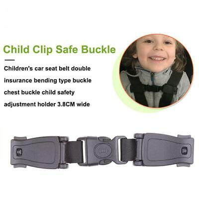 Car Baby Safety Harness Seat Strap Child Chest Clip Lock Buckle Pushchair