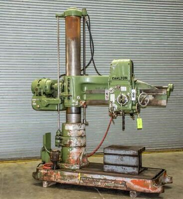 "4' X 11"" CARLTON MODEL 1A RADIAL ARM DRILL Stock Number: 1374"
