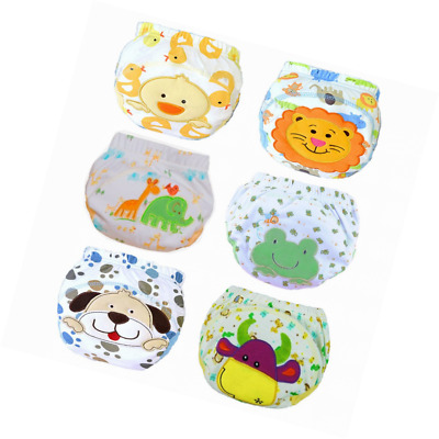JT-Amigo Baby Boys Underwear Potty Training Pants Reusable 6 Pack Size 2-3 Years