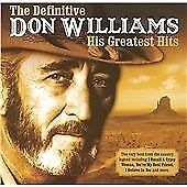 Don Williams, The Definitive Don Williams, CD, Very Good