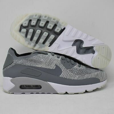 NIKE AIR MAX 90 Ultra 2.0 Flyknit 875943 003 Platinum Grey