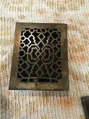 Gate 36 Antique Cast-Iron Heating grate 7.75 x 9.75
