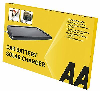 AA Essentials 12V Solar-Powered Car Battery Charger Solar Panel OBD Version *AA*