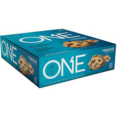ISS Oh Yeah! One Bar, Chocolate Chip Cookie Dough, 12 Count (DP)