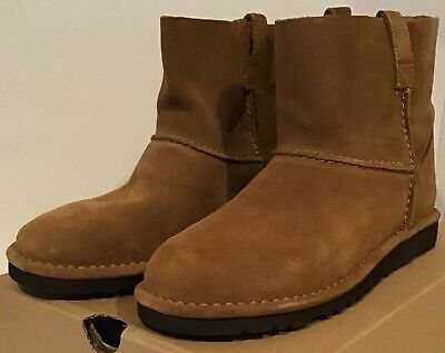 62db9cd5c87 UGG WOMEN'S ALIDA Suide Unlined Boots Chestnut 1017533 Size 7 M ...