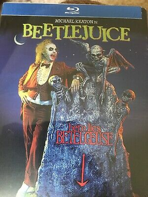 Beetlejuice (Blu-ray SteelBook) NEW Factory Sealed Limited Edition