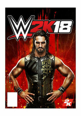 Wwe Ps4 Wwe 2K18 Mint Factory Sealed Free Shipping