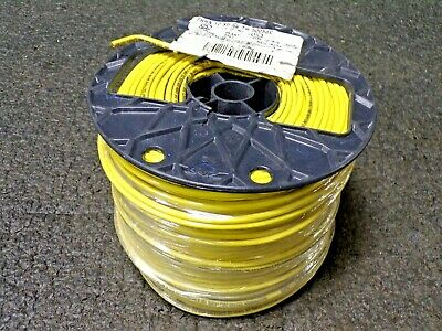 SOUTHWIRE COMPANY 500 ft. Stranded Building Wire THHN, 12 AWG Wire Size, Yellow