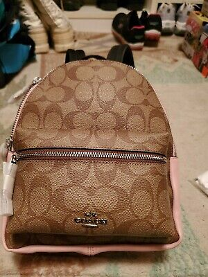 d4429a5c0 COACH Impossible to find F28995 F58315 Mini Charlie Khaki Backpack New With  Tags