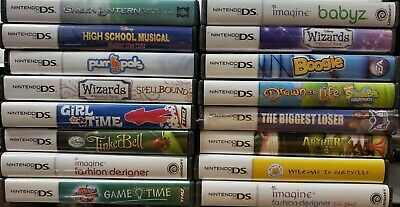 Nintendo DS Games COMPLETE IN BOX CIB FLAT $3.95 ship