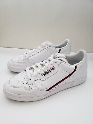 e590eb19a8f9 ADIDAS ORIGINALS CONTINENTAL 80 Rascal White Scarlet Navy Men ...