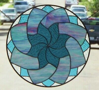 """•Stained Glass Mandela •≈ 16 ½"""""""