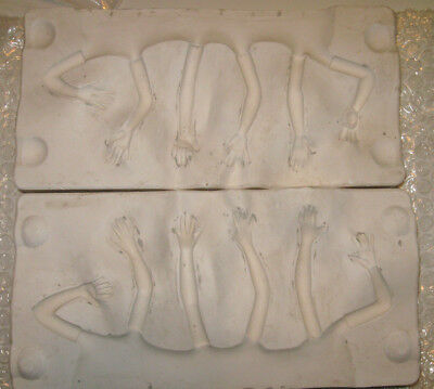 Cermaic Dolls Arms Mold