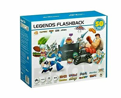 At Games Arcade Legends Flashback Boom - 50 Built-in Games (FB8650) - LIKE NEW™