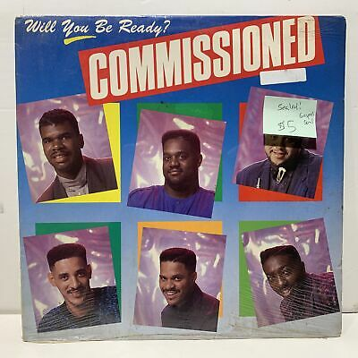 Commissioned Will You Be Ready? Gospel Soul SEALED LP