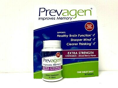 Prevagen Extra Strength Chewables Tablets Mixed Berry