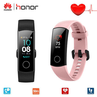"Huawei Honor Band 4 Smart Watch 0.95"" Armband Touchscreen Bracelet Monitor Sehen"