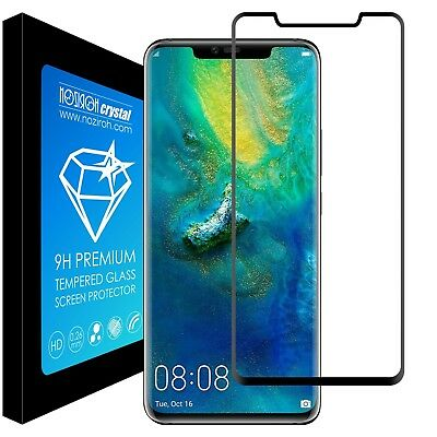 Tempered Glass 9H Screen Protector Film Curved Full 3D Huawei Mate 20 Pro