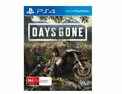 Brand New Days Gone PS4 Game Zombies Action