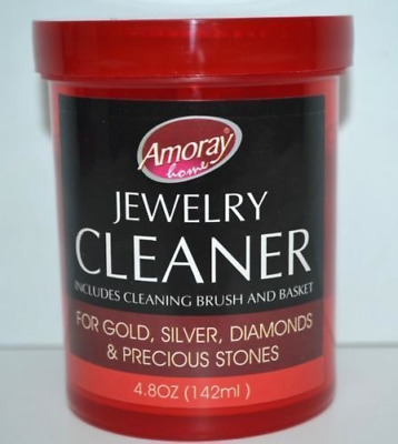 Safely Clean All Jewelry Gold Silver Diamonds Liquid Cleaner Household Cleaning