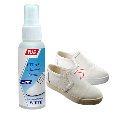 White Shoe Cleaner Cream Casual Shoes Decontamination 100ml Shoe Tool