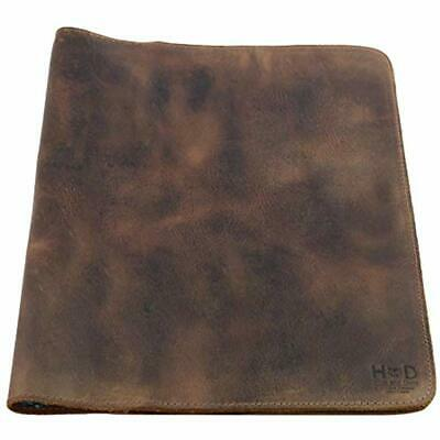 Hide &amp Drink, Rustic Leather Journal Cover (8.5 X 11 In.) / Refillable Cahier
