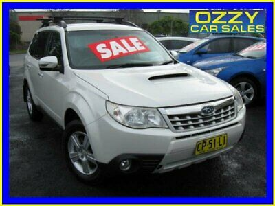 2011 Subaru Forester MY11 2.0D White Manual 6sp M Wagon