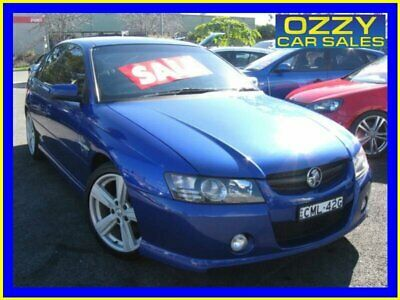 2005 Holden Commodore VZ SS Blue Automatic 4sp A Sedan