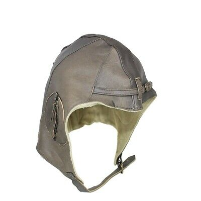 REPLICA Antique Leather Flying Helmet