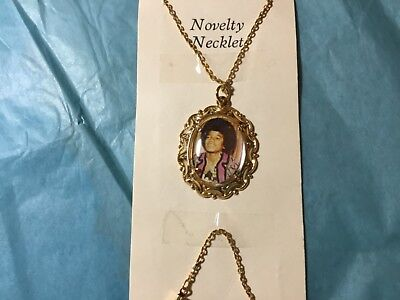 Rare Vintage 1970s. Michael Jackson teen girl necklace