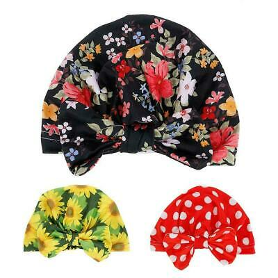 Kids Girl Baby Toddler Turban Knotted Bow Hat Cap Headband Hair Band Accessories