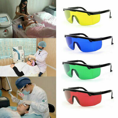 Portable Eye Safety Glasses for Red Green Blue Laser UV Light Protection Goggles